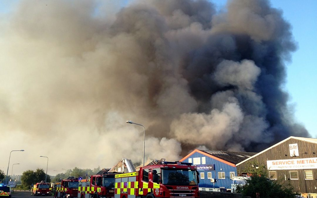 Huge warehouse fire in Braintree highlights the need for fire barriers in storage facilities