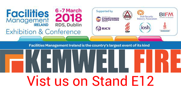 Visit the Kemwell Fire Stand E12 at FM Dublin exhibition – 6-7 March