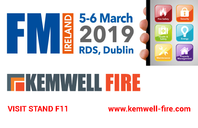 Visit Kemwell Fire at FM Ireland 5-6 March and find out about our exciting new product!