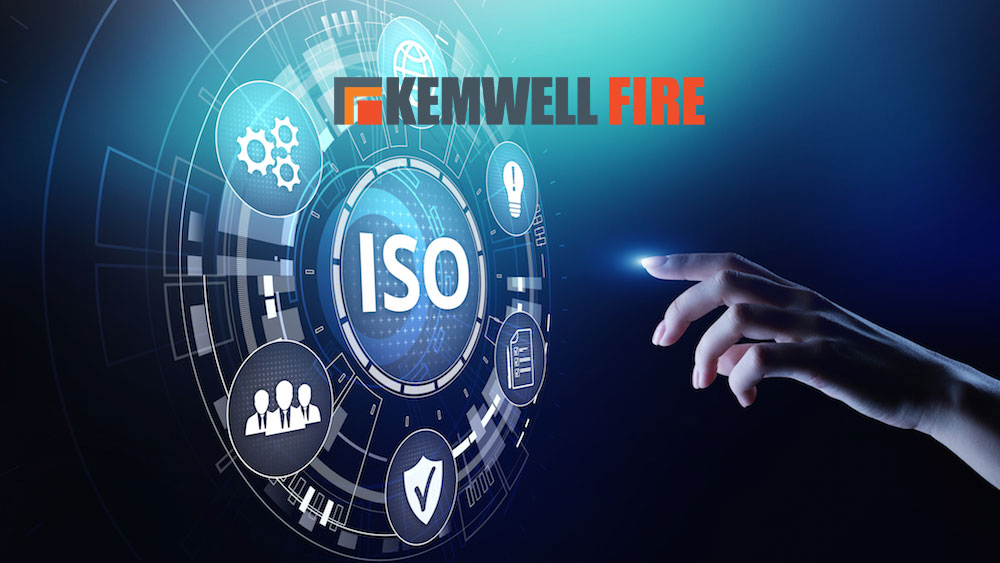 Kemwell Fire awarded ISO 9001:2015 and ISO 14001:2015 certification