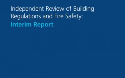 Dame Hackitt Review of Building Regulations and Fire Safety, CPA update