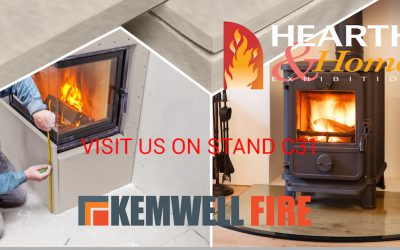 Kemwell to launch New Fireplace Lining System at Hearth & Home to ensure that Fireplace Surrounds are HETAS compliant