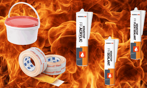 Fire Stopping Products from Kemwell