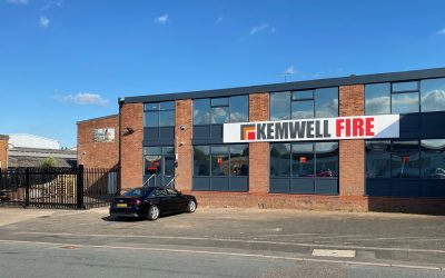 Sustained growth leads to office and warehousing move for Kemwell Fire